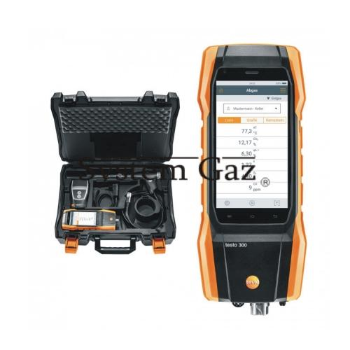 Analizator Testo 300 LongLife (O2, CO) 4000 ppm zestawy
